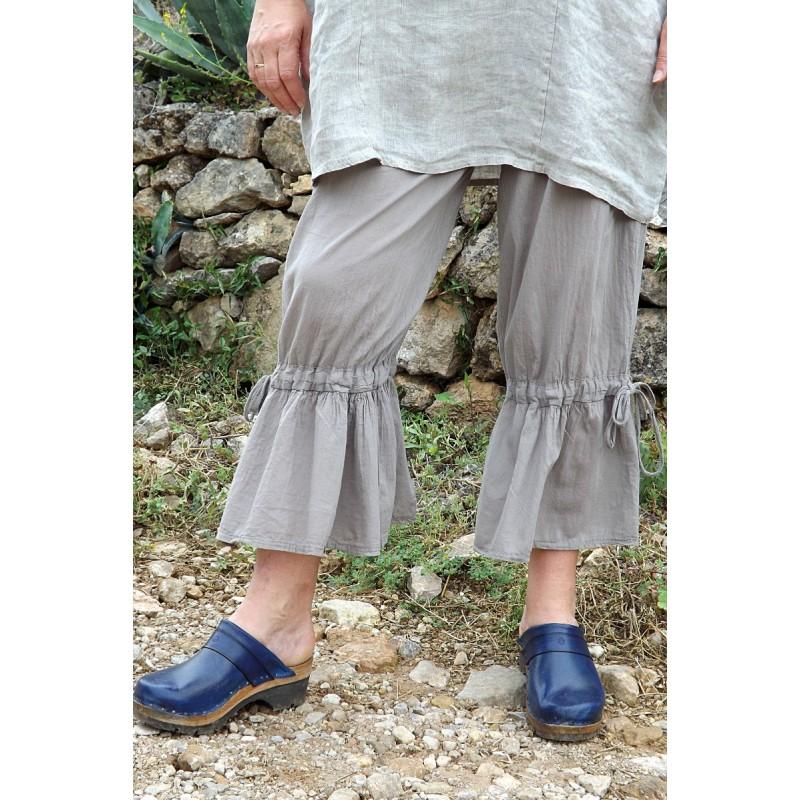 Pantalon panty grande taille en coton - Le dressing de bea ...