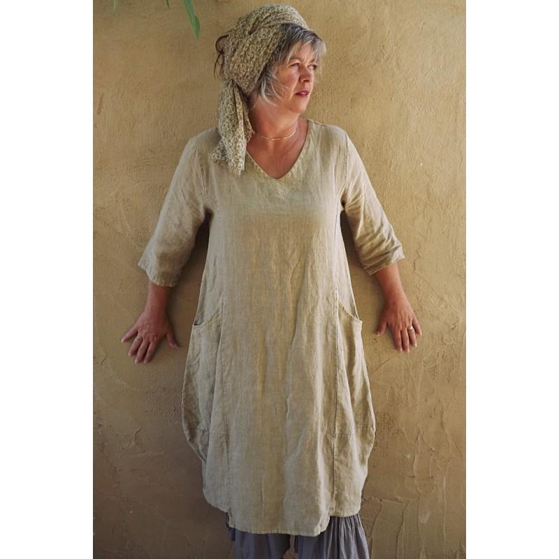 Robe boho lin - Le dressing de bea ...