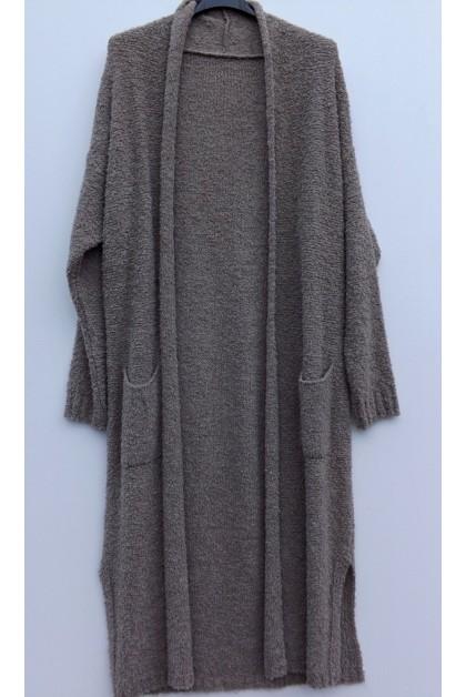 Gilet long laine - Le dressing de bea ...