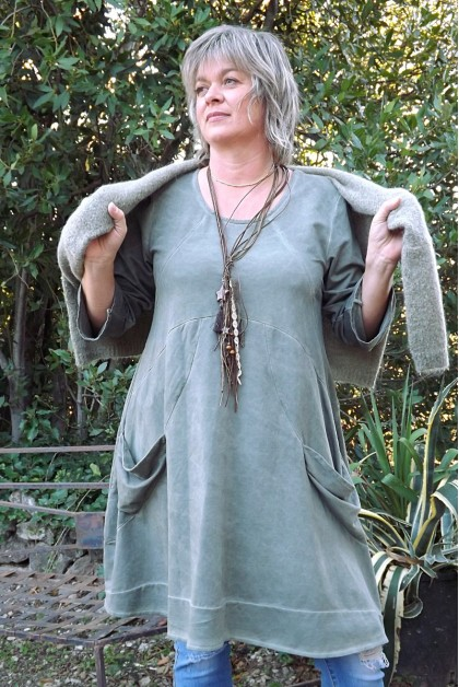 Robe coton grande taille - Le dressing de bea ...