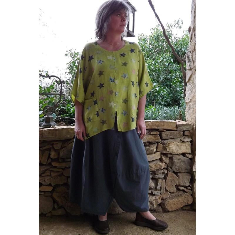Jupe longue en coton - Le dressing de bea ...