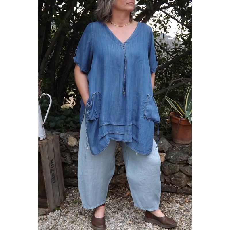 Pantalon en lin grande taille awesome pantacourt finddress femmes sport courts pantalons casual - Le dressing de bea ...