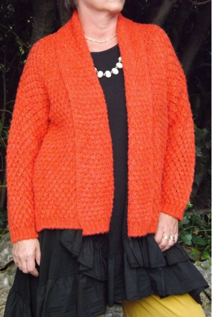 GILET GROSSE MAILLE BASILE CLEMENTINE