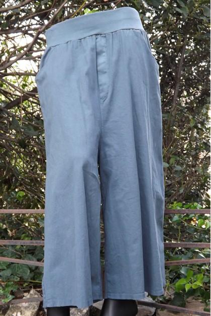 Pantalon bleu acier Etienne