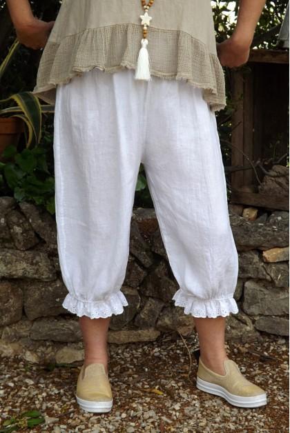 Panty lin blanc grande taille Joseph