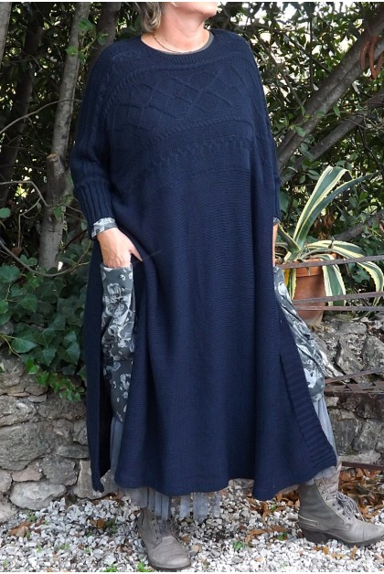 PULL LONG BLEU MARINE FLORENT