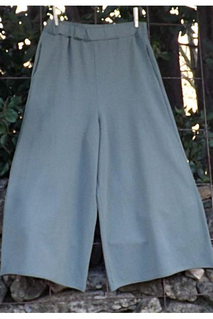 Pantalon coton Augustin kaki