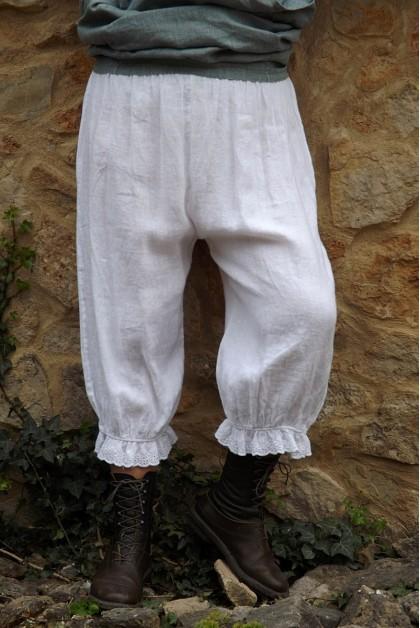 Panty lin blanc Joseph