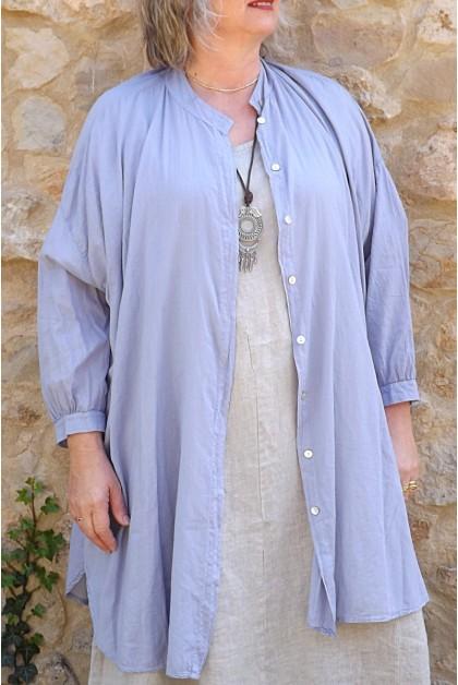 Liquette coton Coco parme et robe Erydis