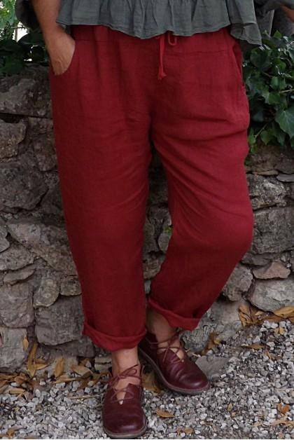 Pantalon lin garance Gabriel