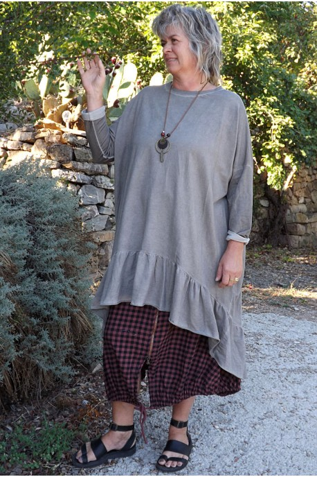 Robe grande taille Marion et jupe Agathe
