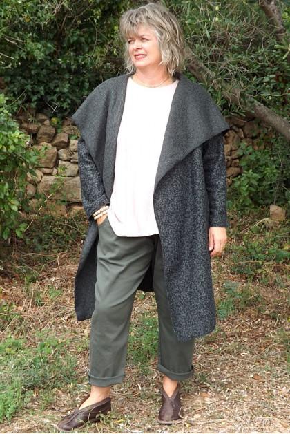 Manteau laine Aramis