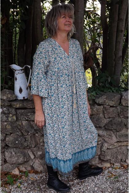 Robe longue Charlotte