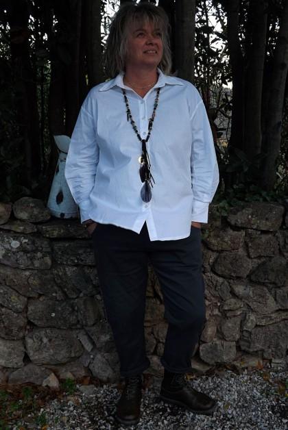Chemise blanche Sabine