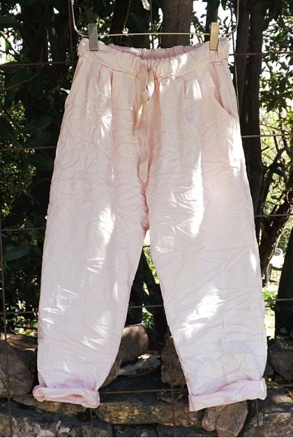 Pantalon grande taille Tim rose
