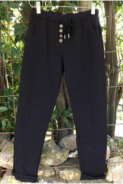 Pantalon noir Alix