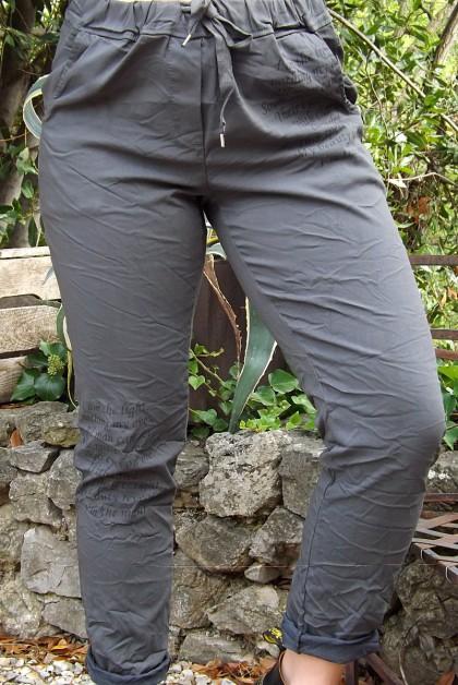 Pantalon grande taille Willou