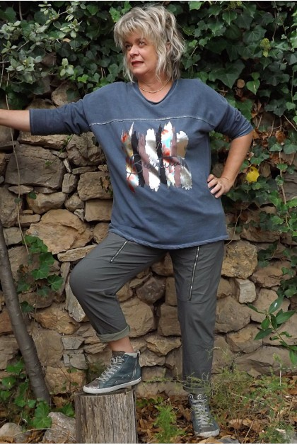 Sweat grande taille Georges et pantalon Tom